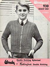 Wendy Girls Cardigan Knitting Pattern 3176
