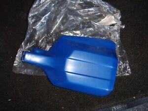Kawaski KDX125 / KDX 124 - NOS LHS Hand Guard - Blue - New