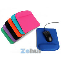 For Optical/Trackball Mat Mice Pad Thick Square Wrist Comfort Mouse Pad 7 Colors