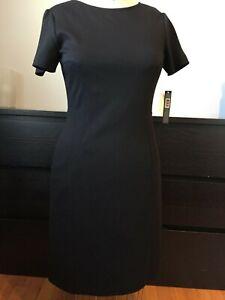 zwarte 6 jurk vrouw Jersey Tahari Nieuwe maat 1CqTg1