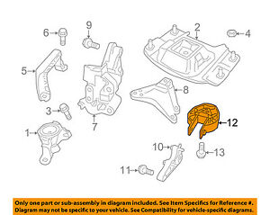 volvo s40 engine diagram volvo oem 04 11 s40 engine mount 9487349 ebay 2006 volvo s40 engine diagram volvo oem 04 11 s40 engine mount