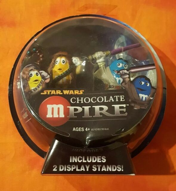 Hasbro Star Wars Chocolate Mpire - Mace Windu - Chewbacca Action Figure