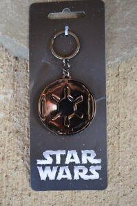 Star-Wars-7-Movie-Imperial-Key-Chain-Black-Gunmetal-Licensed-Force-Awakens