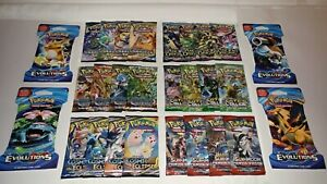 28-POKEMON-BOOSTER-PACK-LOT-EVOLUTIONS-ANCIENT-ORIGINS-AUTHENTIC-amp-SEALED