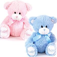 """8"""" BABY BOY GIRL BIRTH NEW BORN COSY PLUSH TOY SOFT KIDS CUDDLY TEDDY BEAR GIFT"""