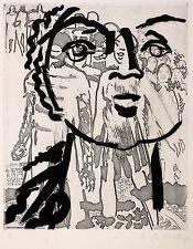 EVA-MARIA SCHREITER - Jugend - Radierung Aquatinta 1972