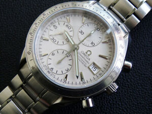 MEN-039-S-OMEGA-SPEEDMASTER-3211-30-AUTOMATIC-CHRONOMETER-DAY-DATE-VERY-CLEAN