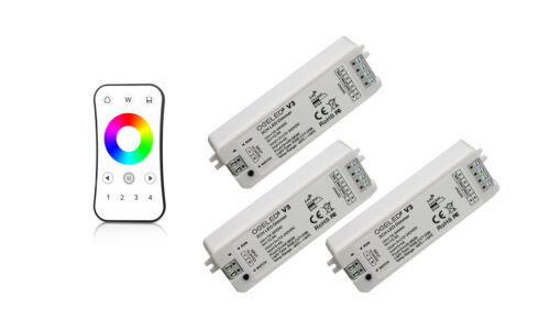 4 Zonen 1 or 2 Kanel LED Dimmer mit Touch Fernbedienung Wifi für Handy 12V 24V