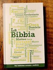 Italian Language Bible, La Sacra Bibbia, NRV, Hardcover Green/White