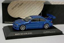Ixo Hekorsa 1/43 - BMW M3 GTR E46 Bleue