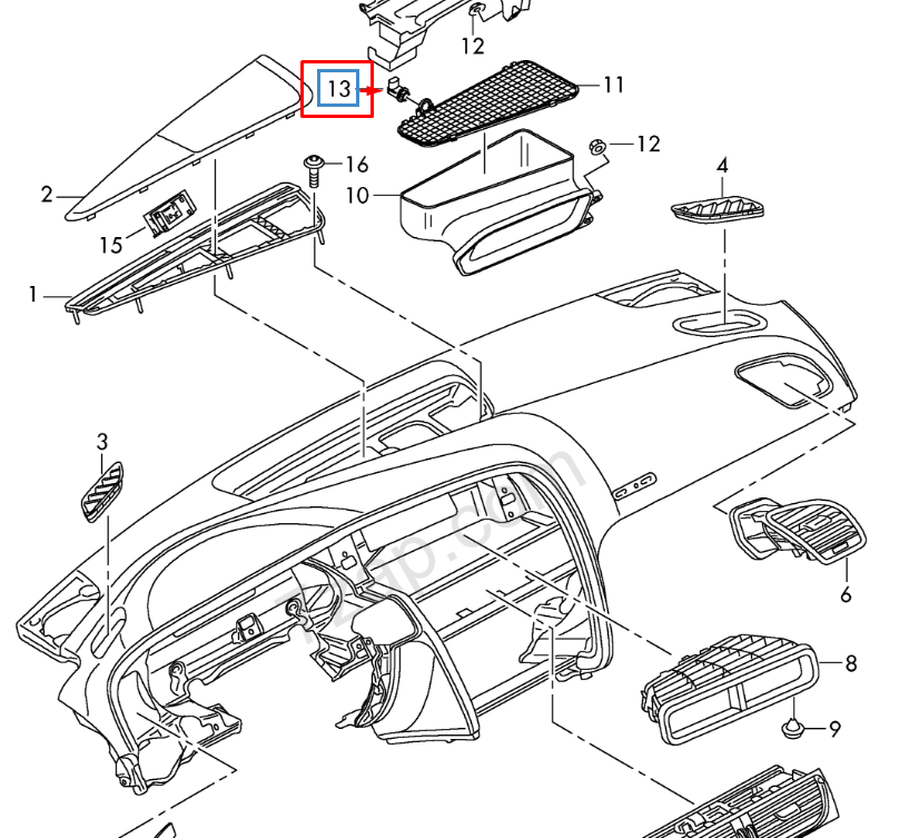 Audi A4 Battery