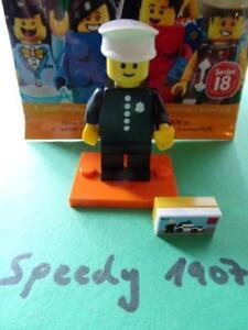 Satz mit 16 Figuren ohne den Polizisten LEGO® Minifigures 71021 Serie 18