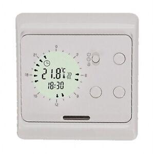 digital thermostat mit 24 stunden schaltuhr funktion 730 ebay. Black Bedroom Furniture Sets. Home Design Ideas