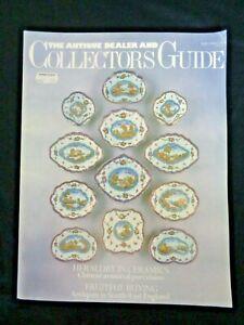 Antique Dealer Collectors' Guide 1988 Enoch Doe Chamberlain Samuel Cook Painter