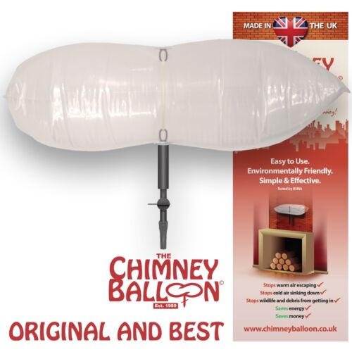 "15/"" X 9/"" Small Rectangular Chimney Balloon Made in the UK Original and Best"