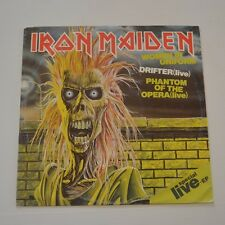"IRON MAIDEN - WOMEN IN UNIFORM - 1980 GERMANY 12"" SINGLE "" SPECIAL LIVE EP"
