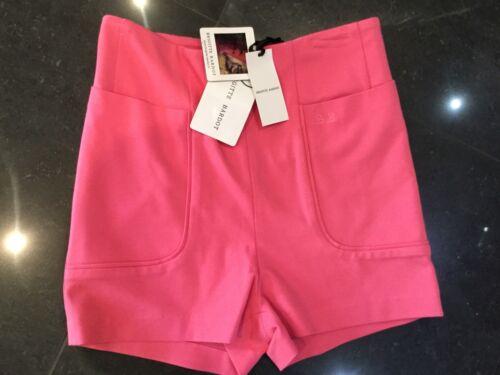 Pink Genuine Small alta a vita Brigitte Nwt New Ladies Bardot Small Pantaloni qtn0WX