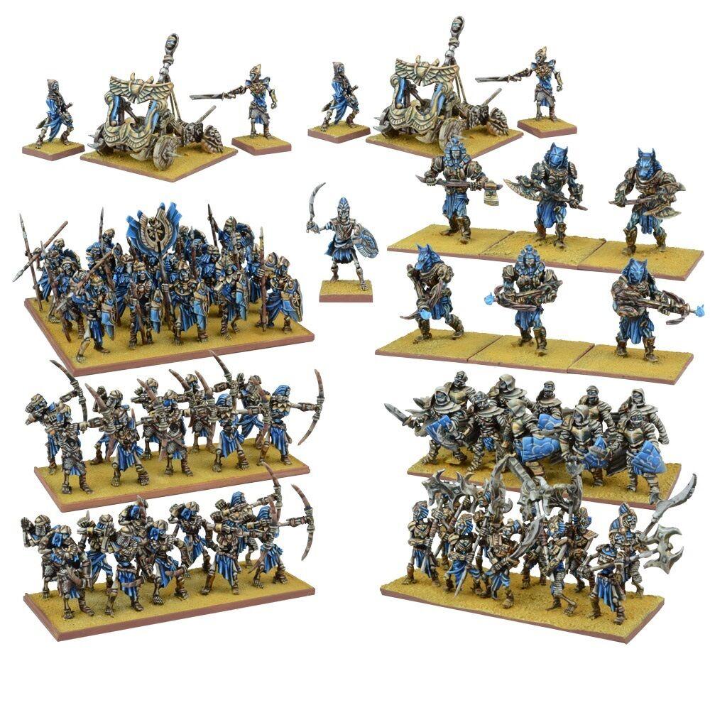 Mantic Kings of War - Empire of Dust Mega Army 28mm Fantasy Miniatures