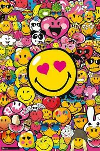 Smiley-World-Girls-Tribe-Maxi-Poster-61cm-x-91-5cm-new-and-sealed