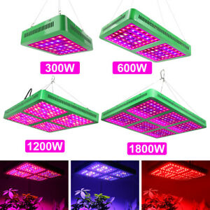 1//2//4Pcs 300W LED Grow Light Hydroponics Indoor Plant Flower Veg Pflanzen Lampe