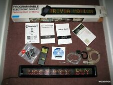 Pro Lite Pl M2014r V6 Trucolor Programmable Electronic Display Message Sign Nice