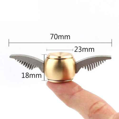 Gold Snitch Harry Potter Fidget Spinner Hand Toy Metal US Seller