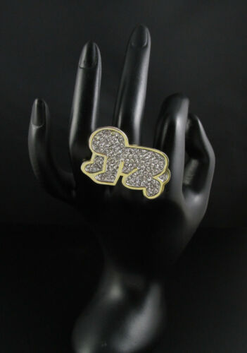 Keith Haring Radiant Baby Ring, Noir Jewelry Harin