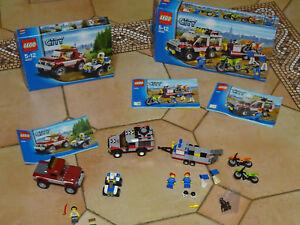 Lego city 4437 la course poursuite en forêt+4433 COMPLET +BOIT +NOTICE TBE Xs9y7NCX-08153643-248224507
