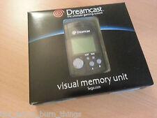 Official VMU Boxed Black Sega Dreamcast  Boxed Good Condition New