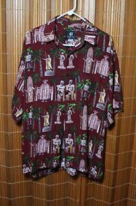 da0eadd7 Image is loading Vintage-Mens-Aloha-shirt-by-Mango-Moon-SZ-