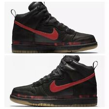 pretty nice 42210 19f23 item 6 NIKE DUNK HI PRM N7 BLACK UNIVERSITY RED  AA1126-001  US MEN SZ 10.5  -NIKE DUNK HI PRM N7 BLACK UNIVERSITY RED  AA1126-001  US MEN SZ 10.5