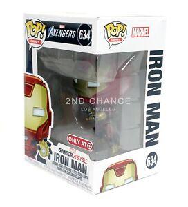 Funko Pop Marvel Avengers Iron Man Gamerverse 634 Target Exclusive Figure MINT