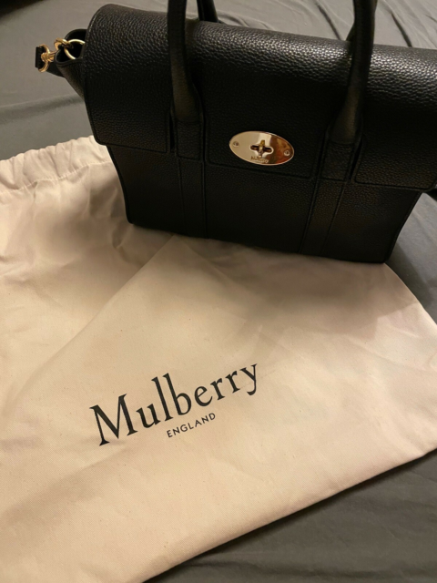 Crossbody, Mulberry, læder, Mulberry bayswater small i…