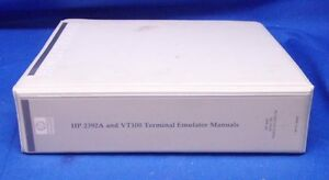 Details about HP 2392A & VT100 Terminal Emulator Manual