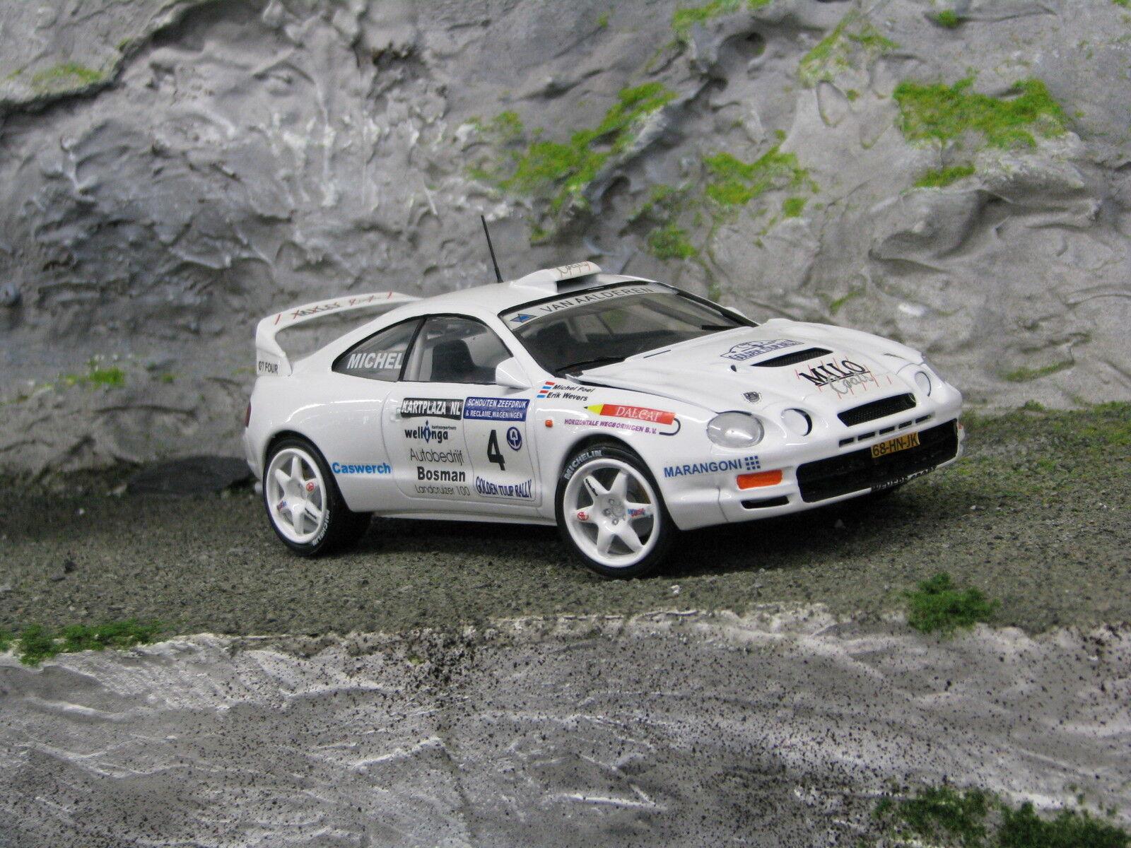 QSP Toyota Celica GT-Four 1995 1 24  4 Wevers   Poel oroen Tulip Rally 2001