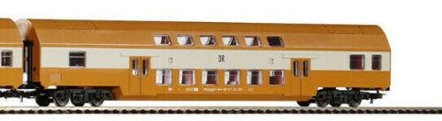 Spur H0 1 St Doppelstockwagen DR 50 50 25-04 243-1 aus Piko 57135