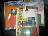 3 Scrapbook Kits Vacation, Party, School Days
