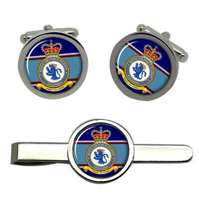 Royal Air Force estación Portreath Gemelos Y Corbata ® Set Bar RAF
