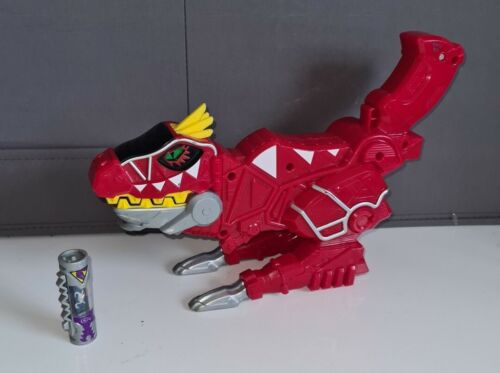 Power Rangers Dino Super Charge Red T-Rex Morpher Gun Dino Charger #9