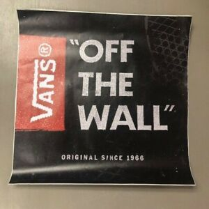 Details about VANS STICKERS PROMOTIONAL ITEMS (QTY 2) FREE SHIPPING