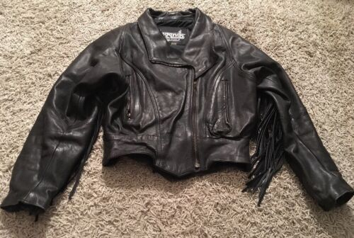 Xs Jacket Legend Wear With Womens Rider Size Leather Fringes F1Fwx8nI