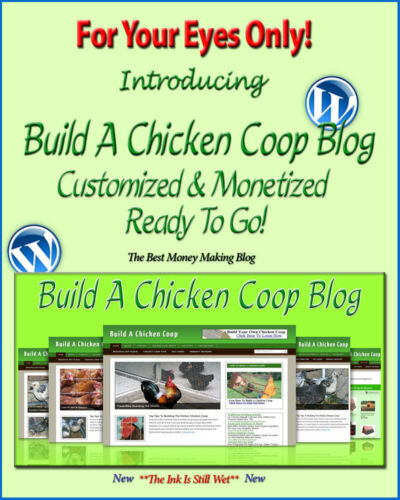 Clickbank Amazon Adsense Pages Build A Chicken Coop Blog Self Updating Website