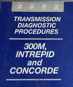 manual chrysler concorde 2002
