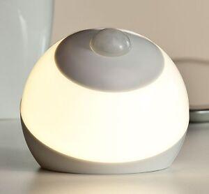 led batterie nachtlicht notlicht mit bewegungsmelder nachtlampe nachtleuchte n13 ebay. Black Bedroom Furniture Sets. Home Design Ideas