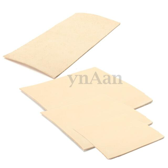 4 SIZE 1.8-2.0MM Thick Natural Veg Tan Vegetable Tanned Cowhide Genuine Leather