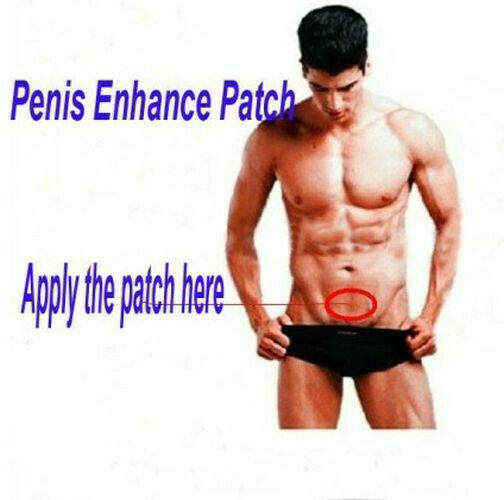 Virility Energizer / Enlarger Patches For Male  (14 pieces - month supply)