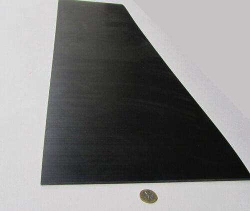 "3//16/"" Tivar UHMW PE Black Sheet .187/"" Thick x 12/"" Wide x 48/"" Length 2 Units"