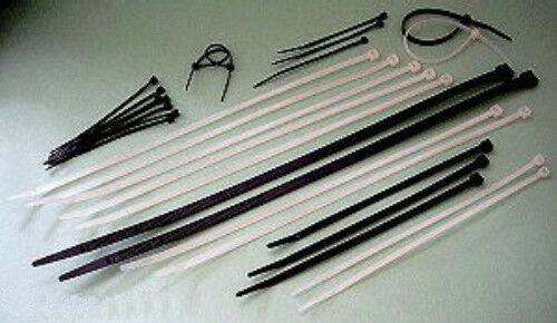 100 Stück Weiß Kabelbinder 4,8x360 mm in NATUR