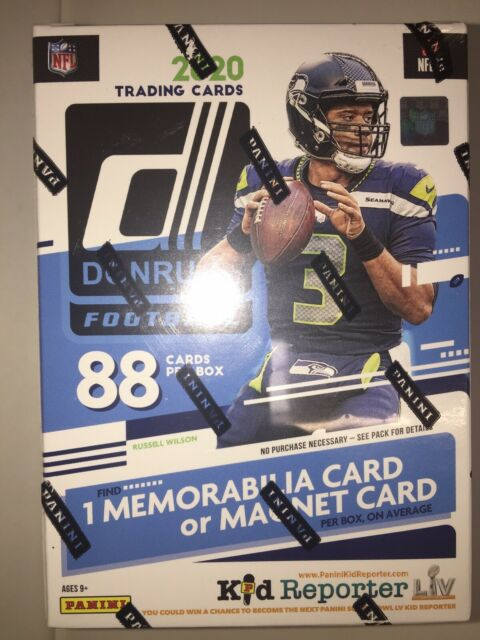 🔥🏈💪🔥🏈💪🔥🏈2020 Donruss Football NFL blaster box 88 Cards Murray Burrow?🔥