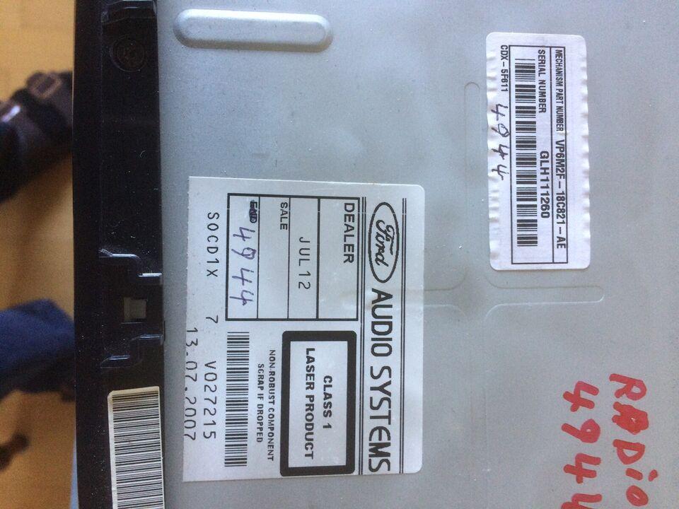 Sony Ford Sony, CD/Radio